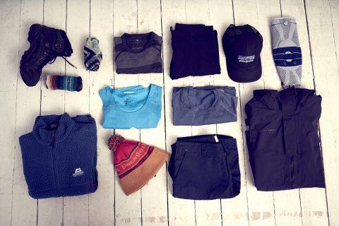 outdoor equipment clothes hiking wandern klamotten zwiebellook