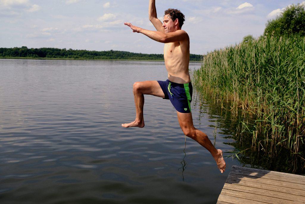 Kajak Wasserwandern Deutschland Mecklenburg Vorpommern Sommer