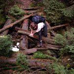 Wandern, Polen, Riesengebirge, Regen