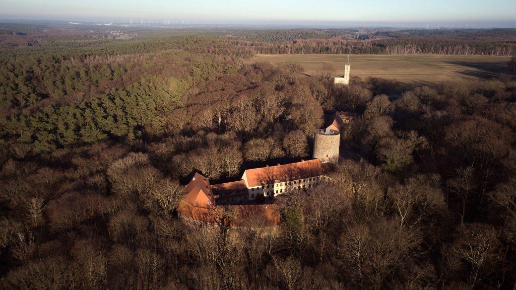 Brandenburg Burg Rabenstein Wandern Sonne Ausflug Planetal