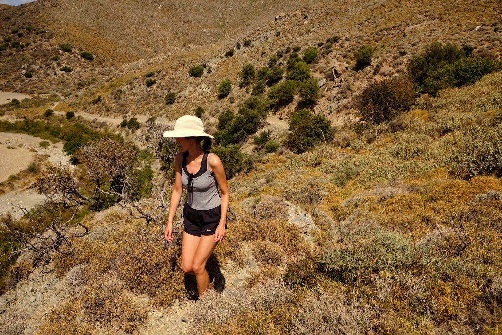 Kreta Wandern Griechenland Strand Preveli Sommer