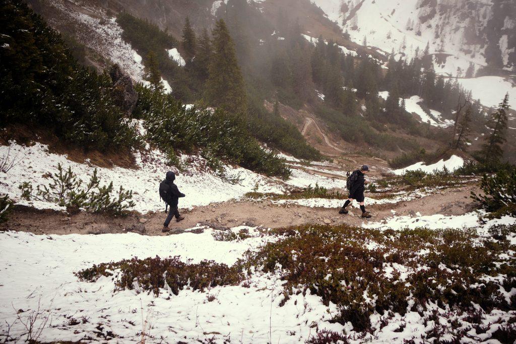 Bayern Berchtesgadener Land Jenner Wandern Hiking